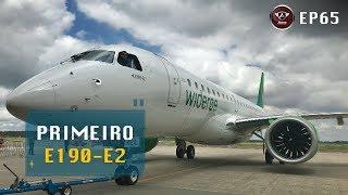 Entrega do Primeiro Embraer E 190-E2 para Companhia Aérea da Noruega.