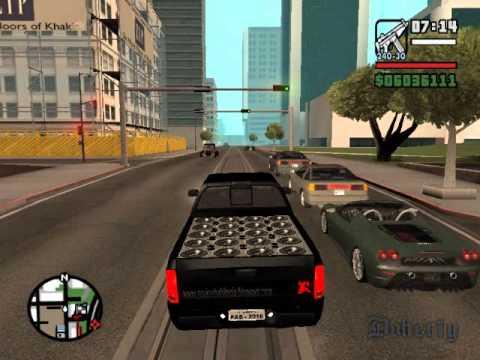 Dodge Ram Turbinada Gta San Andreas