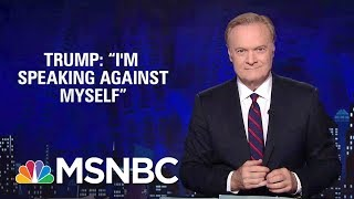 Lawrence: President Donald Trump's Teleprompter Speech Trouble | The Last Word | MSNBC