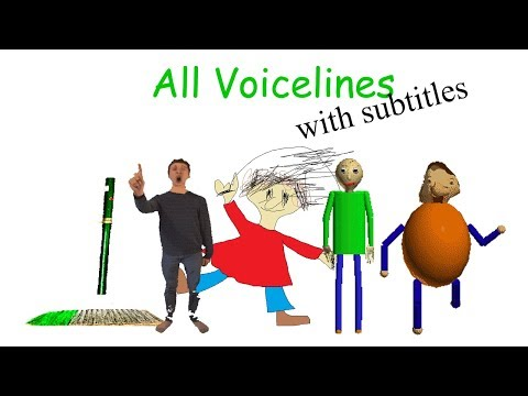 Xxx Mp4 All Voicelines With Subtitles Baldi S Basics In Education And Learning V1 2 3gp Sex