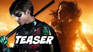 Titans Season 1 Scenes and Wonder Woman 2 Teaser Explained