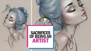 HARDSHIPS OF ARTIST LIFE || 30 Days of Art Episode 27