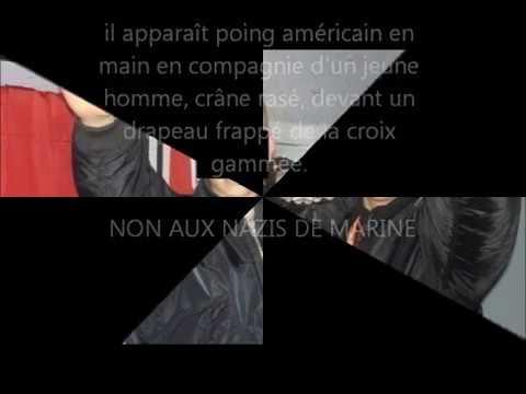 Marine Le Pen Alexandre Gabriac les Néonazis du Front National 卍卍 Video Youtube 卍 l extreme droite
