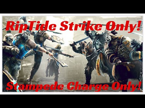 Xxx Mp4 For Honor Orochi RipTide Strike And Raider Stampede Charge Only Challenge With Stromie Paladin 3gp Sex