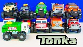 Tonka Climb-Overs Tonka Toy Trucks for Boys Unboxing Kinder Playtime