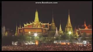 เพลงสรรเสรีญพระบารมี  royal anthem of thailaid 22/10/2559(2/2)