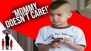 """6 Yr Old Tells Supernanny """"Mommy Doesn"""
