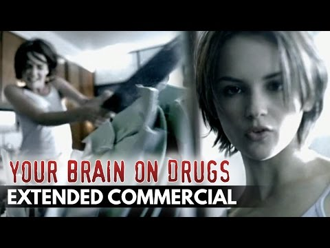 90 s This is Your Brain on Drugs Commercial – Extended Cut