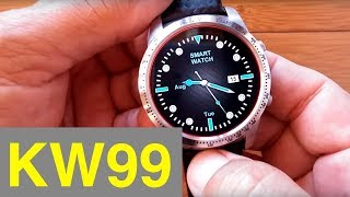 Kingwear KW99 Smartwatch: Prototype Review (Now Available for Sale)