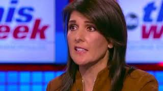 """""""I'm there once a week."""" Nikki Haley gives absurd defense of Trump's mental stability"""