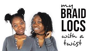 THE BEGINNING OF MY BRAIDLOC JOURNEY | DMCMTL