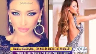 Bianca Drăguşanu a îmbrăcat din nou rochia de mireasă