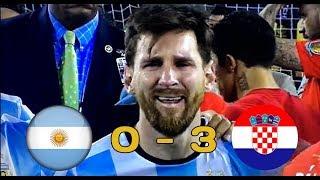 🏆 MESSI DEJA ELIMINE DU MONDIAL !? | ARGENTINE 🇦🇷 VS CROATIE 🇭🇷 0-3 | RESUME, DEBRIEF 🏆