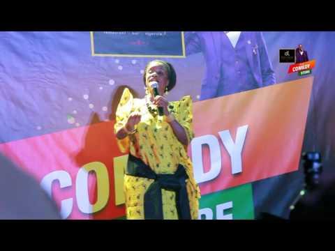 Alex Muhangi 2016 Comedy Store - Ssenga Justine Nantume