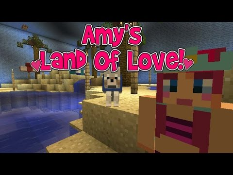 Amy's Land Of Love! Ep.132 Pool Party! | Minecraft | Amy Lee33