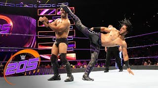 Mustafa Ali vs. Michael Thompson: WWE 205 Live, Sept. 11, 2018