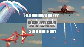 RED ARROWS HAPPY 50th BIRTHDAY (airshowvision)