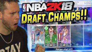NBA 2K18 myTeam Draft Champion Debut!