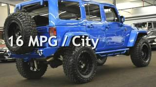 2016 Jeep Wrangler UNLIMITED SAHARA FULL CUSTOM PAINT LIFT INTERIOR for sale in Milwaukie, OR