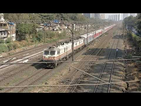 Xxx Mp4 22222 NZM TO CSMT Inaugural 1st Run Central Railways 1st Rajdhani Express Indian Railways 3gp Sex
