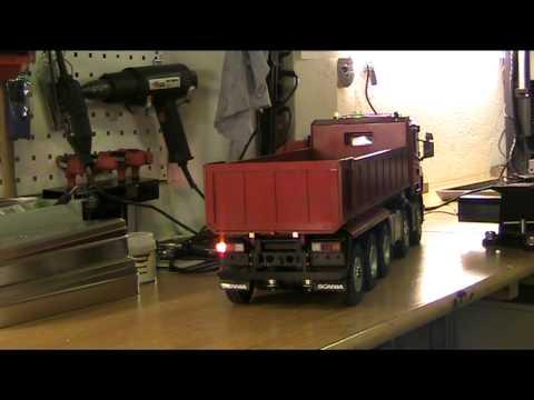 Tamiya Scania 10x8 Tipper