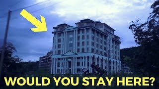 We were the only guests in a 146 room hotel in Burma