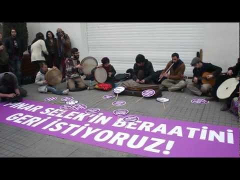 pınar selek in beraatini geri istiyoruz sokak müzisyenleri