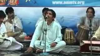 Asfindyar Momand Classical Music Concert pushto ghazal parogram amn TV parat 3 - YouTube.FLV