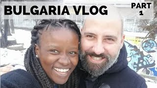 ***MY 1ST WHITE XMAS*** || BULGARIA TRAVEL VLOG PART 1 OF 2 || SOUTH AFRICAN YOUTUBER