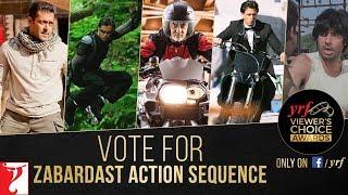 Zabardast Action Sequence | YRF Viewer