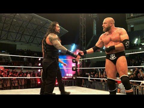 Xxx Mp4 Roman Reigns Earns Triple H S Respect 3gp Sex