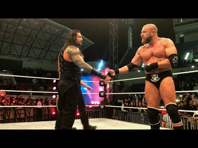 Roman Reigns earns Triple H's respect
