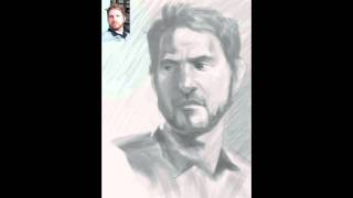 My first iPad drawing (Min første iPad tegning) -thank you Steve Jobs!