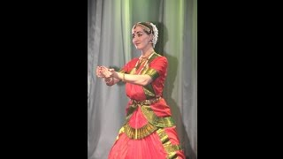 Indian dance in Moscow  -  Bharatanatyam -