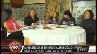 Entrevista Maná en AL ROJO VIVO Drama y Luz.mp4