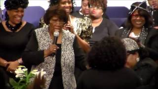 Mother J. Walton Preaching at the 2017 NC 2nd Jurisdiction Women's Convention!