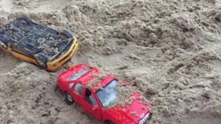 Slow motion Car Smash