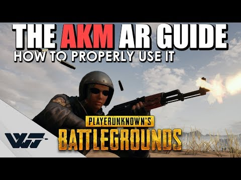 Xxx Mp4 GUIDE How To PROPERLY Use The AKM Assault Rifle It S Not That Bad In PUBG 3gp Sex