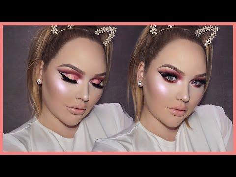 ROSE GOLD Cut Crease Smokey Eyes - THANKSGIVING Makeup Tutorial