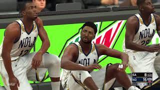 2021-2022 Spurs vs Pelicans