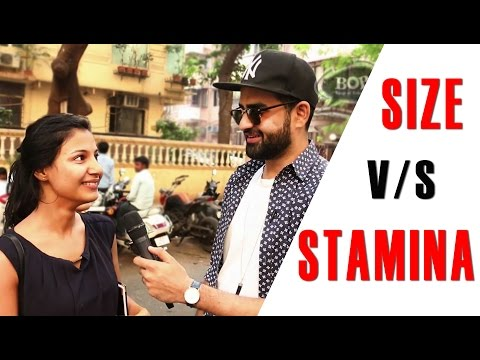 Size v/s Stamina? - Girls Reaction | Baap of Bakchod - Sid