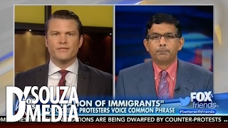 Fox & Friends: D'Souza Explains Key Difference Between Immigrants and Refugees