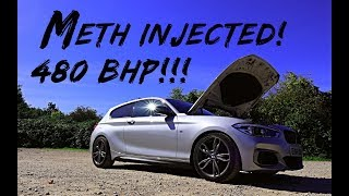 INSANE! *480BHP METH INJECTED* BMW M140I REVIEW!