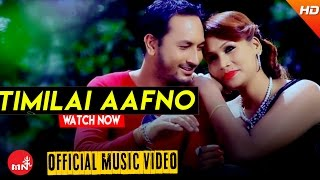 New Nepali Song 2016/2073 || TIMILAI AAFNO - Milan Amatya (Official Video) Ft.Umesh/Prabin/Sarina