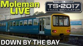 Train Simulator 2017 | Down By The Bay! | BR Class 143 (Moleman Live)