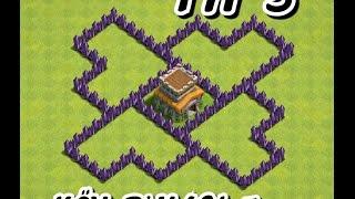 Clash Of Clans - 5.Seviye Köy Binası Düzeni 2017