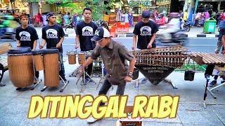 DITINGGAL RABI - Musiknya Mantap &  Yang Joget Lucu TEMON HOLIC (Angklung Malioboro) Carehal NDX AKA