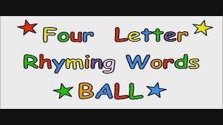 Phonics Rhymes, Rhyming Words For Kids | Rhyming Words Examples | Phonics (Rhyming Words)
