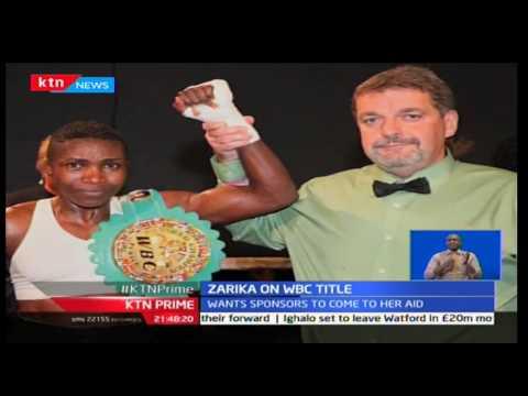 World boxing council Champion Fatuma Zarika wants sponsors to come to her aid