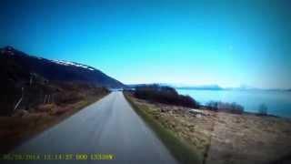 Tromsø,Sommarøy-Vikran,dashcam